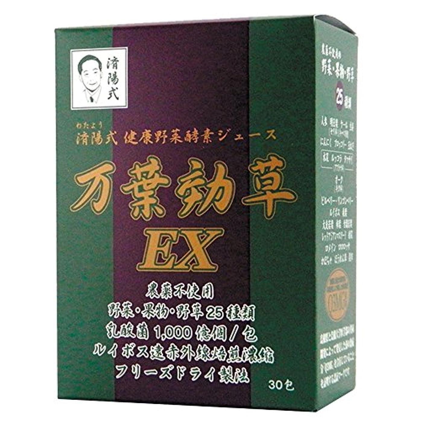 カプセル試用十年AIGエム 済陽式 健康野菜酵素ジュース 万葉効草EX