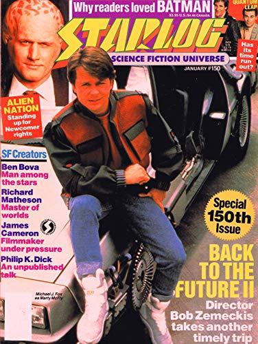 Starlog Magazine The Sci Fi Comics: January 1990 (English Edition)