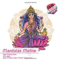 Mandalas Motive Adult Coloring Book 200 pages - Keep it simple. Keep it honest. Keep it real.