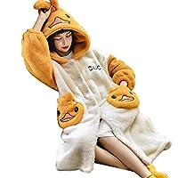 バスローブ レディース 厚手 パジャマ ルームウェア ナイトガウン 部屋着 ロング ワンピース 長袖 着る毛布 かわいい 暖かい