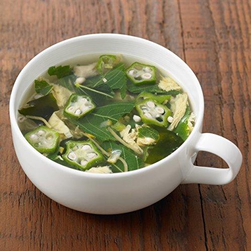 無印良品 まとめ買い 食べるスープ オクラ入りねばねば野菜 4食×10