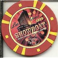 $ 5 Showboat 1999ラスベガスカジノチップObsolete