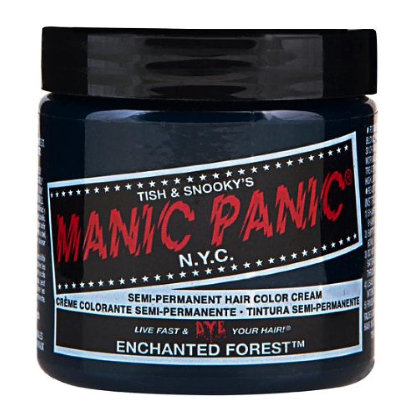 類推タイムリーなリネンスペシャルセットMANIC PANICマニックパニック:Enchanted Forest (エンチャンティッド フォレスト)+ヘアカラーケア4点セット