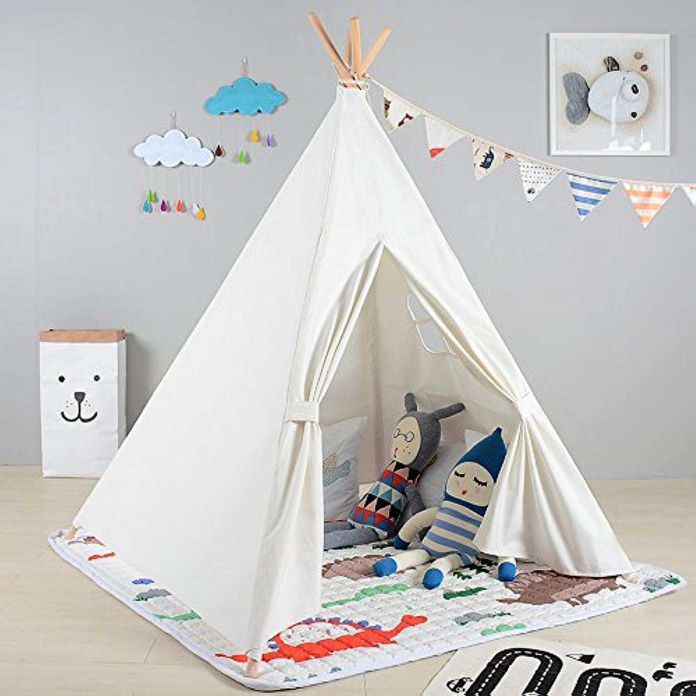 Lovetree 4-pole KidsインドアPrincess Castle Play Tents , Large Playhouse Secret Garden – ポータブル屋内と屋外の楽しくPlays – さまざまなデザイン