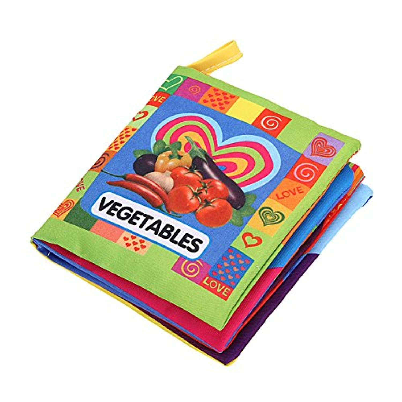 whitelotous非毒性知識Crinkle布ブック、手作り教育玩具、幼児用コンパニオン、ベビーシャワーPresent、ホーム装飾 120259.05