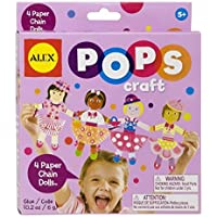 ALEX Toys POPS Craft 4 Paper Chain Dolls by ALEX Toys