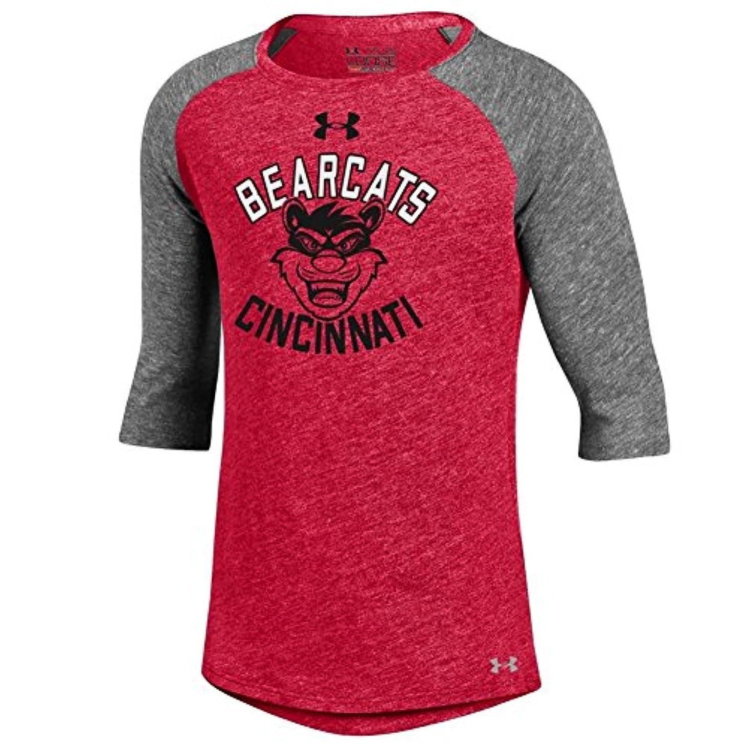 アマチュア中止します性交Under Armour Girls Cincinnati Bearcats Baseball Tee