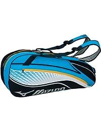 ミズノ テニスバッグ ラケットバッグ 硬式・ソフトテニス/バドミントン 6本入れ 63JD6003