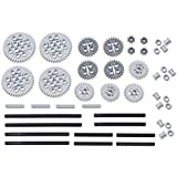 LEGO 46pc Technic gear & axle SET #3 (Works with Mindstorms NXT, EV3, Bionicles and more LEGO creations!) [並行輸入品]