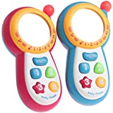 SimpleLifeミュージカル電話玩具、幼児教育用ベビー玩具ミュージカルサウンド携帯電話キッズ&キッズ男の子と女の子