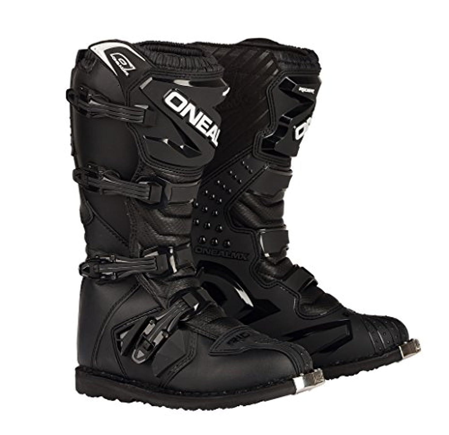 チューインガム哀れな裁判官オニールRacingライダーブーツ Size 10 ブラック 0324-110
