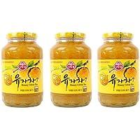 [オットギ三和]蜂蜜ゆず茶1kg 3本セット