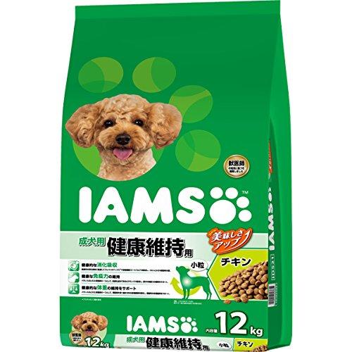 アイムス (IAMS) 成犬用 健康維持用 チキン 小粒 12kg