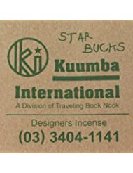 KUUMBA (クンバ)『incense』(STAR BUCKS) (Regular size)