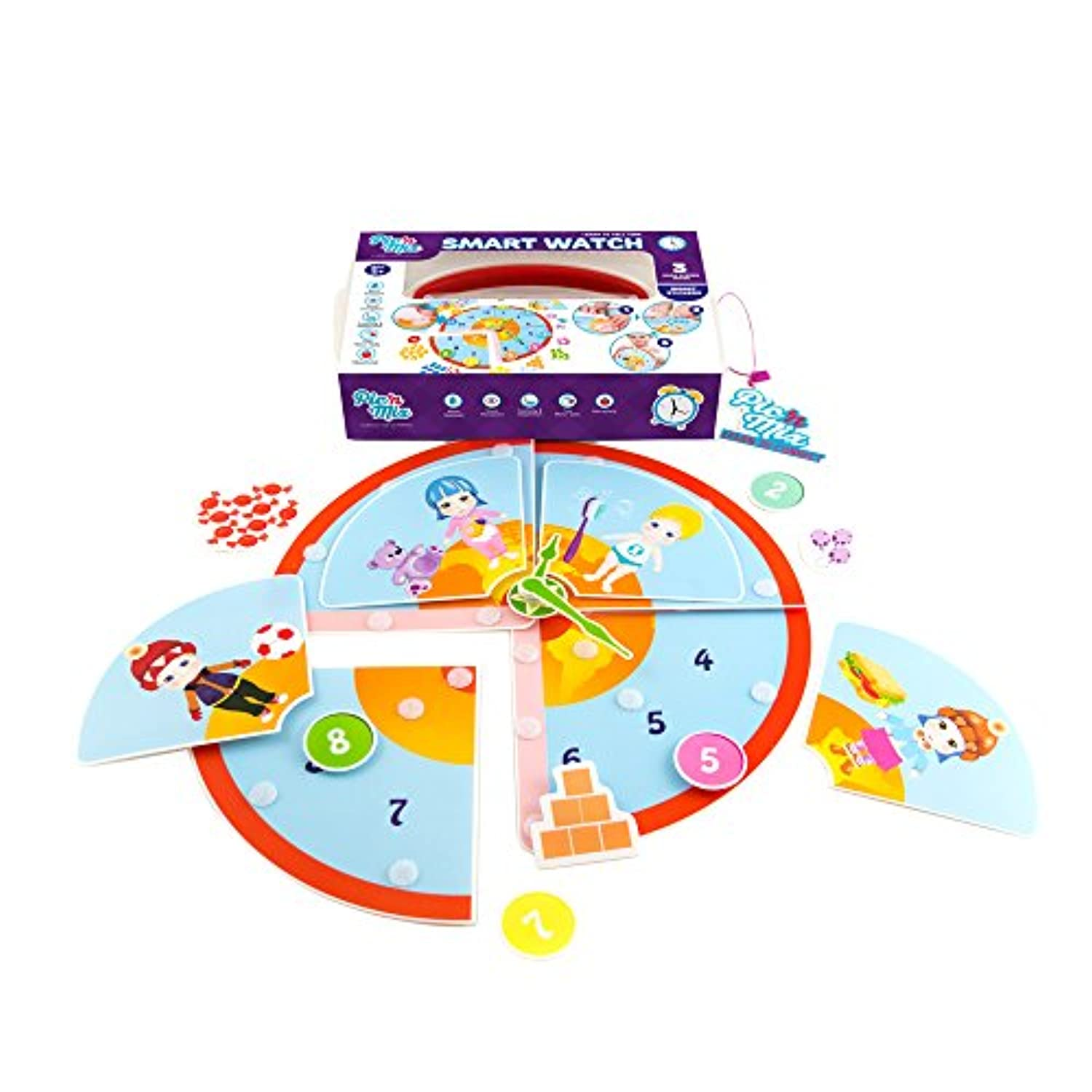 (Smart Watch) - Roll over image to zoom in Picnmix Smart Watch Educational and Learning Toys and Games for 3 year olds to 7 year olds