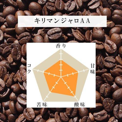 生豆本舗 コーヒー豆 キリマンジャロAA 500g  B008XHXQ44 1枚目
