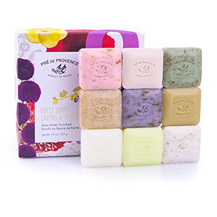 病的軍白鳥PRE de PROVENCE ラグジュアリーソープ ギフトボックス G9 プレ ドゥ プロヴァンス Luxury Soap Gift Box
