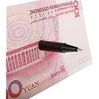 Black Trick Tool Penetration Pen Through Paper Money Close Up Stage Magic^. [並行輸入品]