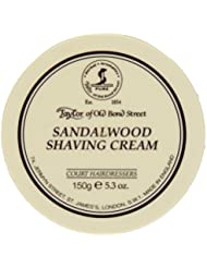 Taylor of Old Bond Street SHAVING CREAM for SANDALWOOD 150g x 2 Bowls by Taylor of Old Bond Street [並行輸入品]