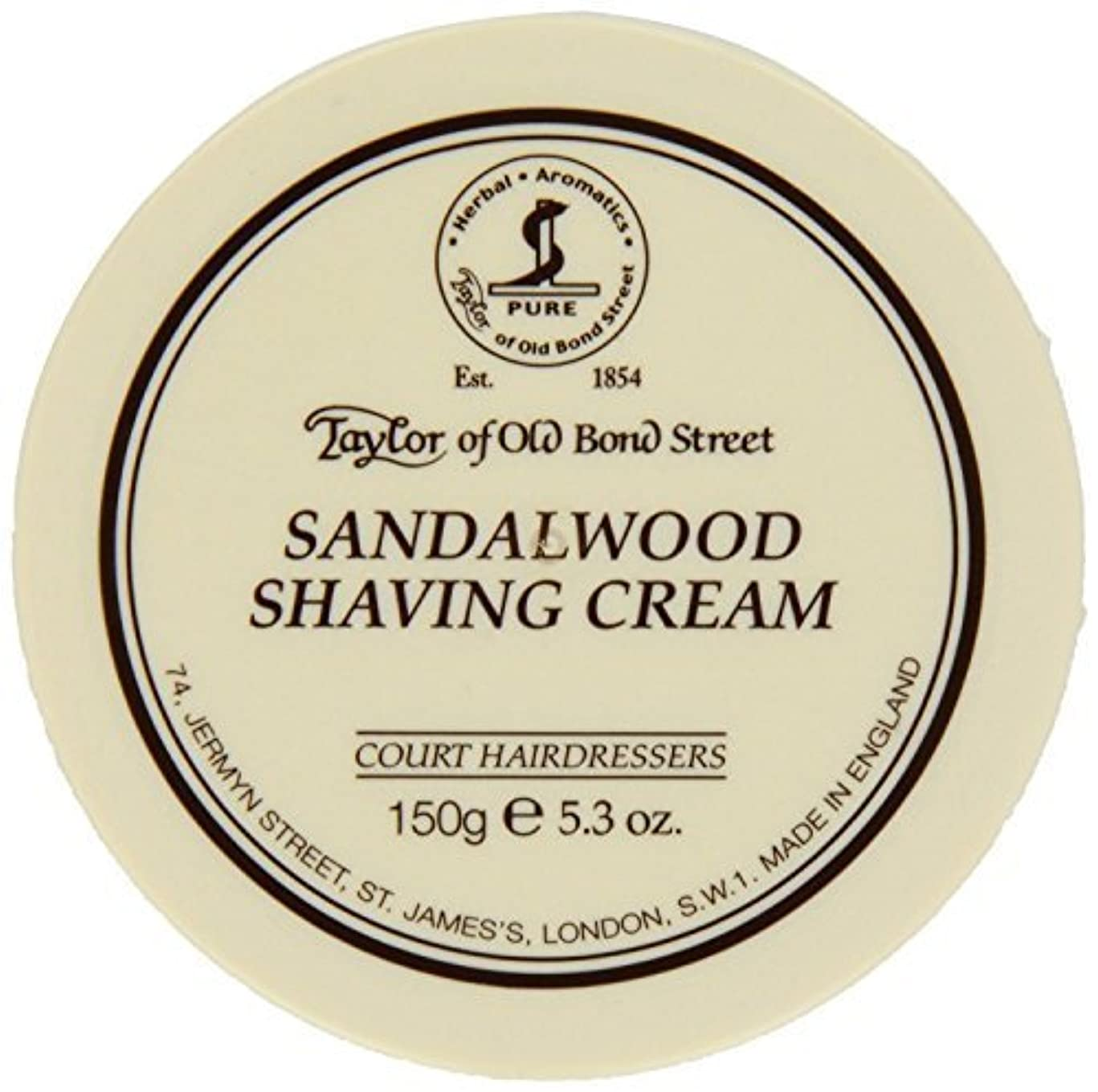 重要な役割を果たす、中心的な手段となる滝クレデンシャルTaylor of Old Bond Street SHAVING CREAM for SANDALWOOD 150g x 2 Bowls by Taylor of Old Bond Street [並行輸入品]