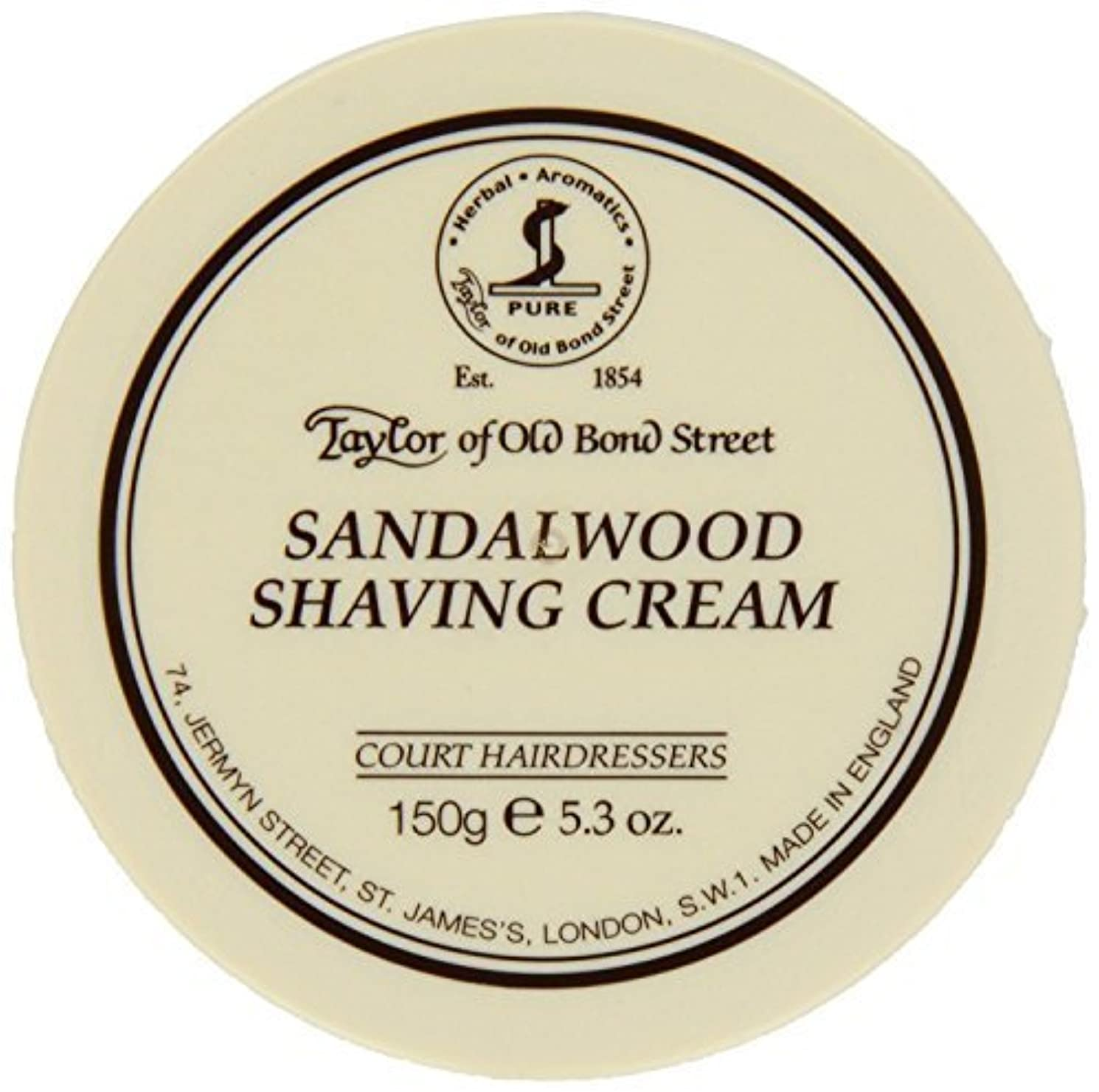 ビデオ価値のない感覚Taylor of Old Bond Street SHAVING CREAM for SANDALWOOD 150g x 2 Bowls by Taylor of Old Bond Street [並行輸入品]