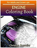 ENGINE Coloring Book For Adults and Grown ups: ENGINE  sketch coloring book  80 Pictures , Creativity and Mindfulness