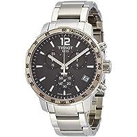 [ティソ] TISSOT 腕時計 クイックスター クオーツ クロノグラフ アンスラサイト文字盤 ブレスレット T0954171106700 メンズ 【正規輸入品】