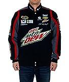 Dale Earnhardt Jr。ダイエットMT。Dew Nascarジャケット M ブラック