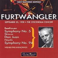 Furtwangler Live in Stockholm
