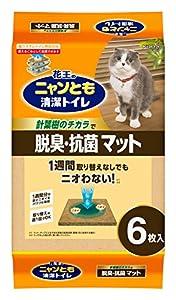 花王 ニャンとも清潔トイレ 脱臭・抗菌マット 6枚入り×3個入り [猫用トイレ]