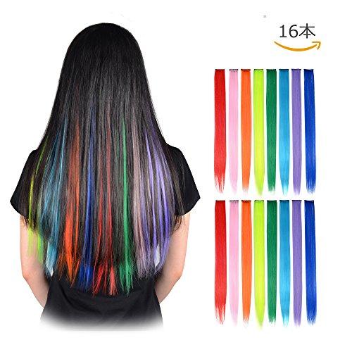 [해외]FESHFEN 원터치 에쿠 컬러 12 병 12 색 여성 가발 세트 점화 머리 긴 생머리 XMKY-JP-073001/FESHFEN 12-color 12-color ladies` point wig set hair straight hair straight long XMKY-JP-073001