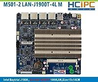 hcipcm501–2lan-j1900t-4l、baytrial j1900インテル82583V 4lan Miniファイアウォールマザーボード、産業用マザーボード、埋め込みマザーボード、multi-lanマザーボード、4lanマザーボード