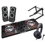 DJスタートセット MIXTRACKPRO3 + Z200 + ATH-S100 + LT-STAND (DJコントローラー + スピーカー + ヘッドホン + PCスタンド) 初心者向けDJセット