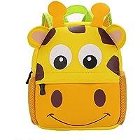 juled Kidバックパック,ベビーボーイズGirls幼児PreスクールバックパックChildrenバックパックバッグ 25x9x24CM(9.84x3.5x9.44IN) イエロー 895569845254645564