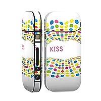 スマコレ IQOS 2.4 Plus 専用 シール 全面 ケース おしゃれ 全面ケース 保護 ステッカー デコ アクセサリー デザイン ユニーク カラフル 唇 006801