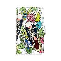 Galaxy S8+ SC-03J / SCV35 国内生産 カード スマホケース スマホカバー 手帳型 携帯ケース 携帯カバー SAMSUNG サムスン ギャラクシー エスエイト プラス 【A.ネイビー】 スニーカー 靴 くつ best_vc-413