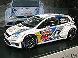 VW特注 1/43 フォルクスワーゲン ポロ R WRC モンテカルロラリー 2014 #1