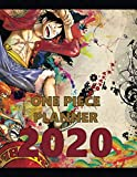 One Piece Planner 2020: Full Calendar Planner 2020 with Images&Quotes, 8.5' x 11', Anime Calendar 2020, One Piece