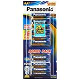 Panasonic Evolta Alkaline Battery, AA, 18 Count