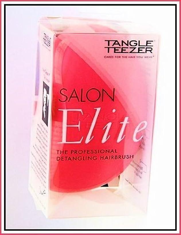 浴室猟犬適応Tangle Teezer Salon Elite Professional Detangling Brush ~ Pink ~ Made in England by Tangle Teezer [並行輸入品]
