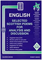 Selected Scottish Poems for Analysis and Discussion (Higher Grade)
