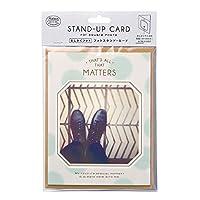 マークス スタンドカード ましかくフォトコレクション ブルー SQP-GC01-BL