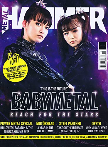 Metal Hammer [UK] October 2019 (BABYMETAL表紙号)