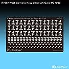 上海ライオンロア【R7052】「1/700 WWII 独海軍 MG C/30 20mm対空機銃」