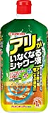 KINCHO アリがいなくなるシャワー液 アリの巣退治 1000ml 1ヶ月効果持続