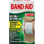 BAND-AID(バンドエイド) 救急絆創膏 タフガード 幅広(ワイド)サイズ 15枚
