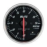BLITZ(ブリッツ) RACING METER SD(レーシングメーターSD) 丸型アナログメーターφ60 TACHO METER WHITE 19566