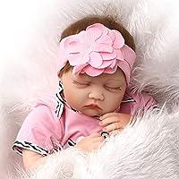 Manyao 55センチメートルシリコンビニールドールミルクカウピンク新生児生きものの赤ちゃんのおもちゃ幼児期