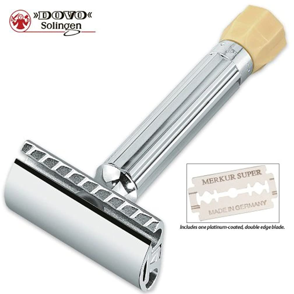 Dovo Polished Chrome Plated Razor Adjustable by Dovo