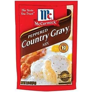 マコーミック ペッパーカントリーグレービーミックス 3袋 McCormick Peppered Counrty Gravy Mix 3 pks